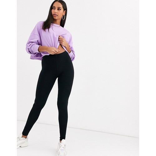 아소스 ASOS DESIGN premium supersoft leggings in cotton modal 1516316