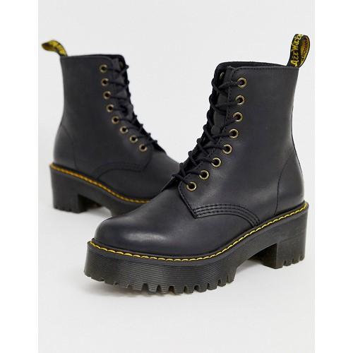 Dr. Martens Dr Martens Shriver Hi Wyoming heeled ankle boots in black 1514375
